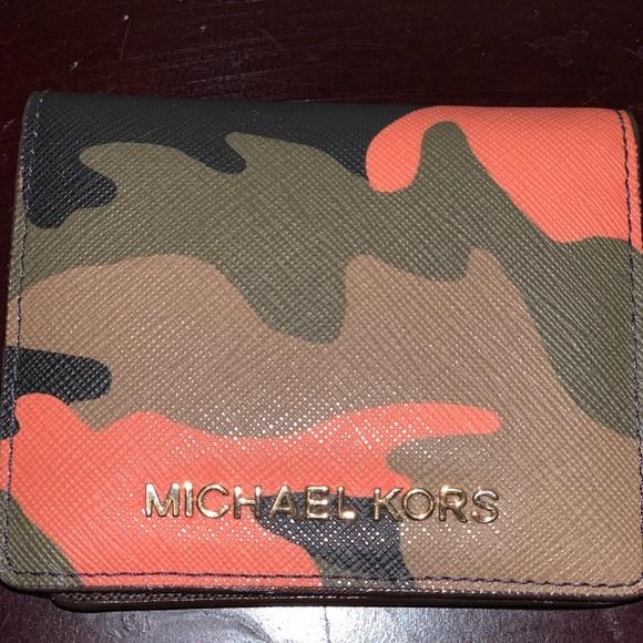 Camo MK wallet